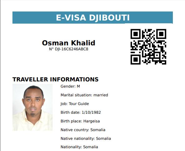 Djibouti E-Visa