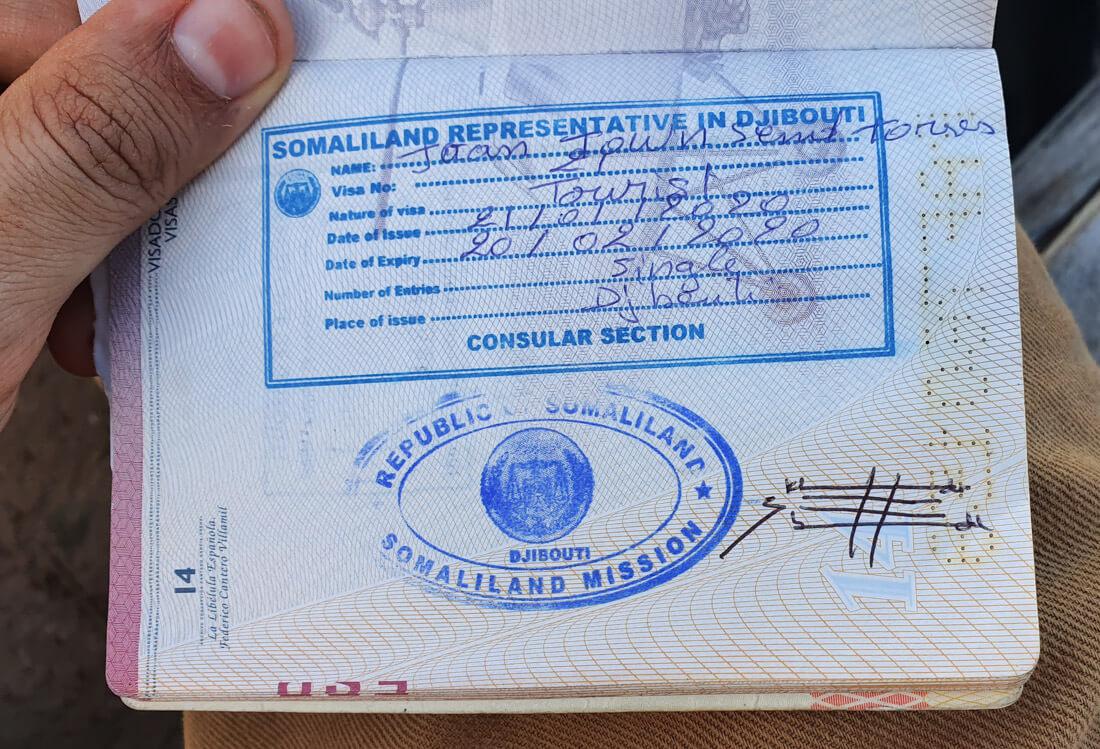Somaliland Visa